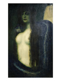 The Sin Gicleetryck av Franz von Stuck