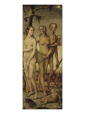 The Ages of Life and Death 1541-44 151X61Cm Premium Giclee Print by Hans Baldung Grien