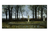 Winter Sadness (A Deserted Park) Giclee Print by Marco Calderini