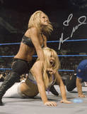 Michelle McCool Action Autographed Photo (Hand Signed Collectable) Photo