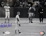 Carlton Fisk Signed Wave Autographed Photo (Hand Signed Collectable) Photographie