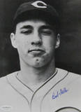 Bob Feller Signed Head Shot Fotografía