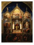 Scenes from Divine Comedy by Dante Giclée-Druck von Carl Vogel Von Vogelstein