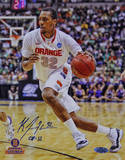 "Kris Joseph Syracuse White Jersey Drive w/ ""08-12"" Autographed Photo (Hand Signed Collectable) Photographie"