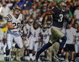 Michael Floyd Running with Ball Horizontal Fotografía