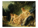 Diane Sortant Du Bain (Goddess Diana after Bathing) (Exhibited 1742) Giclee Print by Francois Boucher