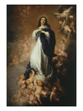 The Immaculate Conception, 1676-9 of Soult 274X190Cm Giclee Print by Bartolome Esteban Murillo