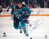 Jeremy Roenick San Jose Sharks Skating Up Ice Horizontal Photo