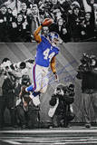 Ahmad Bradshaw Signed Spike Vertical 11x16.5 Photo Photo