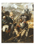 Defeated Austrian and Russian Soldiers, from the Battle of Zurich, 25th September 1799 Giclee Print by Francois Bouchot