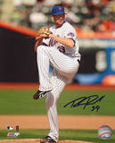 Bobby Parnell Mets Pitching Color Autographed Photo (Hand Signed Collectable) Photo