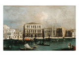 View of Grand Canal with Ca' Pesaro, Venice, 1734-35 Giclee Print by Michele Marieschi