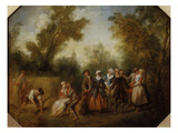 Summer, 1738 Giclee Print by Nicolas Lancret