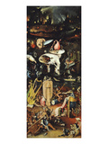 Hell, from Garden of Earthly Delights, Triptych, before 1493, Detail Premium Giclee Print by Hieronymus Bosch