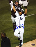 Magglio Ordonez 2006 ALCS Celebrationg Autographed Photo (Hand Signed Collectable) Photo
