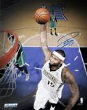 DeMarcus Cousins Sacramento Kings Dunks Against Boston Celtics Signed Foto