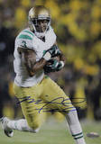 Michael Floyd Running With Ball White Jersey Signed Vertical Photo