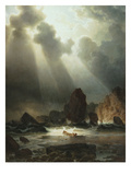 After the Storm, 1855 Giclee Print by Johannes Cordes