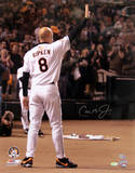 Cal Ripken Jr. Wave From Outside Dugout Vertical Photo