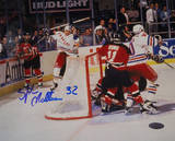 Stephane Matteau Game Winning Goal Game 7 EC Finals Autographed Photo (Hand Signed Collectable) Photo