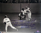 1978 Bucky Dent Playoff HR vs Mike Torrez- Multi Signature Photo