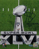 Steve Weatherford Walking on Field SB XLVI Vertical w/