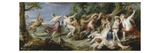 Diana and Her Nymphs Surprised by Satyrs, C. 1638-40 Gicl&#233;e-Druck von Sir Peter Paul Rubens