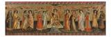 The Seven Liberal Arts, with Ptolemy, Cicero, Aristotle, Euclid, Pythagoras and Tubalcain, C. 1435 Giclée-tryk af Giovanni dal Ponte