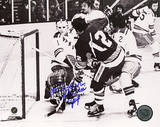 J.P. Parise Game Winning Goal vs Rangers Autographed Photo (Hand Signed Collectable) Photo