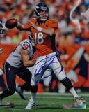 Peyton Manning Signed vs Houston Texans Photo