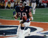 Ken Regan Signed Mark Bavaro SB XXI TD Celebration- Kneel in End Zone Horizontal Photo