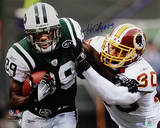 Jerricho Cotchery Stiff Arm vs Redskins Horizontal Foto