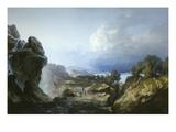 The Storm Dies Out (Il Diradarsi Di Un Temporale) 1856 Giclee Print by Giuseppe Camino