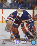 John Vanbiesbrouck Blue Jersey Photo