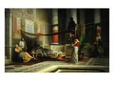 Vendetta of Poppaea Wife of Roman Emperor Nero 1876 Giclee Print by Giovanni Muzzioli