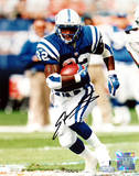 Edgerrin James  Run in Blue Jersey Photographie