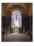 View of the Salle De La Paix, Musée Du Louvre, C.1820 Giclee Print by Etienne Bouhot
