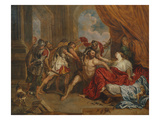 Samson and Delilah, 1673 Giclee Print by Joanna Vergouwen