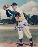 Billy Loes Autographed Vertical Foto