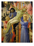 Deposition of Christ 1435 Detail of Christ and Mourners Giclee Print by  Fra Angelico