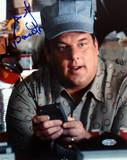 Steve Schirripa Conductor Hat Autographed Photo (Hand Signed Collectable) Photographie