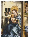 Virgin and Child, from Adoration of the Magi, 1444, from Cathedral of St Peter, Detail Giclee Print by Konrad Witz