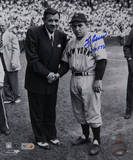 Yogi Berra Signed w/ Babe Ruth w/ &quot;HOF 1972&quot; Insc Photo