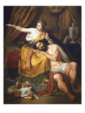 Samson and Delilah, 1851 Giclee Print by José Pina