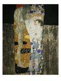 The Three Ages of Woman, 1905 Premium Giclee Print by Gustav Klimt