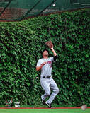 Jeff Francoeur NY Mets Ivy Catch Vertical Photo