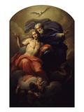 The Holy Trinity Giclée-tryk af Antonio Balestra