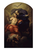 The Holy Trinity Giclee Print by Antonio Balestra