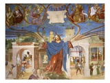 Life of Christ, from Scenes from the Life of Saint Ursula Giclee Print by Lorenzo Lotto