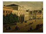 Krakowskie Przedmiecie Square, Warsaw, Poland Giclee Print by Julian Wiszinski